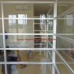 partisi Kusen aluminium di Bank BJB