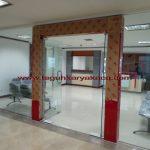 Kusen aluminium & pintu kaca tempered PT. Jasa Raharja