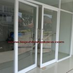 Pintu aluminium double swing