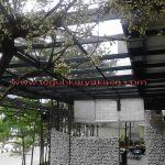 Kanopi Kaca Tempered hotel 101 bandung