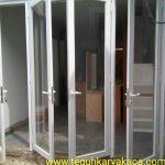 Pintu aluminium serta daun jendela aluminium
