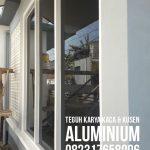 kaca aluminium