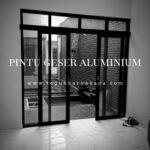 pintu aluminium geser